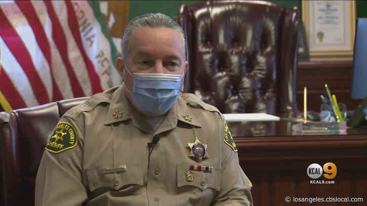 Only On: Villanueva Talks Fatal Shooting, Body Cameras, Ongoing Feud With Board Of Supervisors