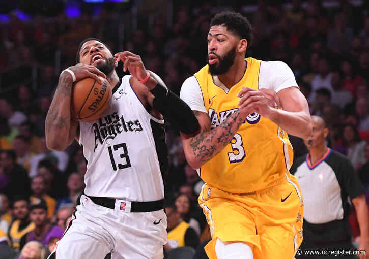 Lakers, Clippers will play on opening night as NBA restarts July 30