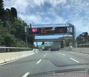Ancora disagi sulla A10: code per incidente tra Varazze e Voltri in direzione Genova - SavonaNews.it