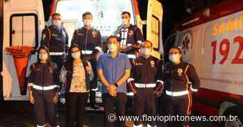 Iguatu agora conta com mais uma UTI móvel - Flavio Pinto