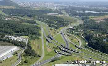 Rodovia dos Bandeirantes tem lentidão após acidente em Jundiaí nesta quinta-feira (25) - Via Trolebus