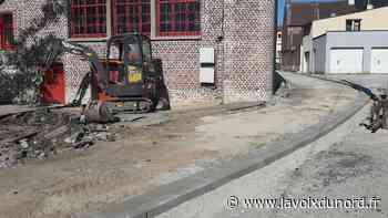 Wormhout: rénovation et réfection complète de la ruelle de l'Église - La Voix du Nord