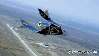 Raumfahrt: Virgin Galactic absolviert nächsten Testflug in New Mexico - Golem.de - Golem.de