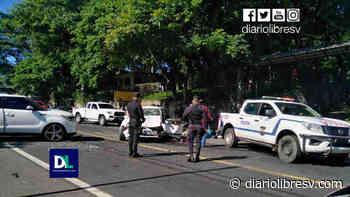 Dos personas resultan lesionadas en accidente de tránsito en Guazapa - Diario Libre