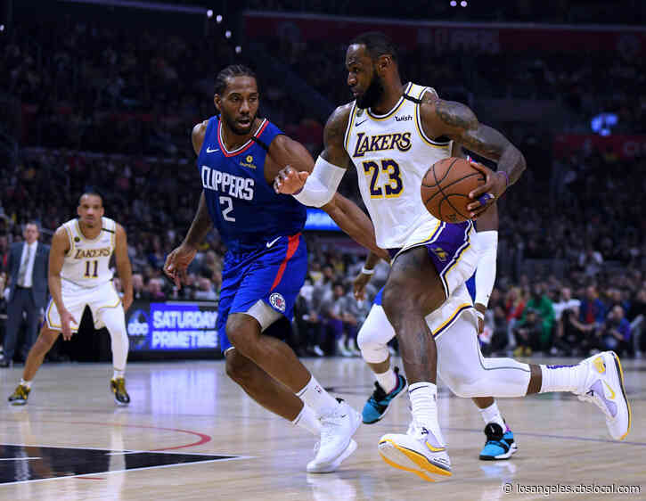 NBA Resumes Play July 30 With Clippers-Lakers Matchup