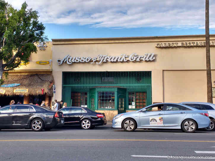 Hollywood's Musso & Frank Grill Reopens With New Safety Guidelines