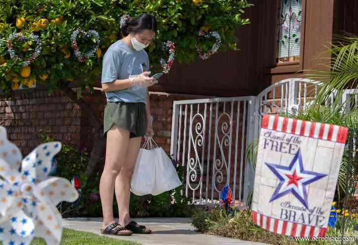 These pandemic-driven food deliveries in Orange County come with a side order of dignity