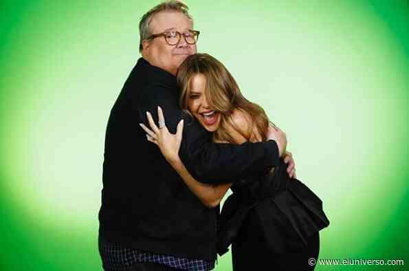 """Sofía Vergara y Eric Stonestreet (Modern Family) se reunieron en la temporada 15 de """"America's Got Talent"""" - El Universo"""