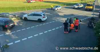 Drei Schwerverletzte bei Verkehrsunfall auf der B30 bei Bad Waldsee - Schwäbische