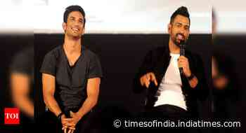 Sushant Singh Rajput spent hours perfecting batting: Mahendra Singh Dhoni's first coach - Times of India