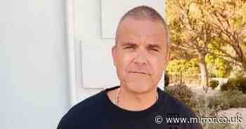 Robbie Williams warns fans 'not to get high and then go food shopping' - Mirror Online