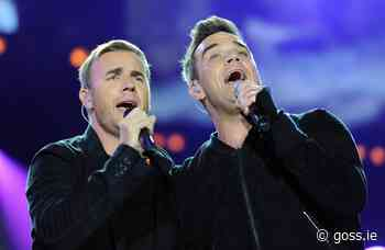 Robbie Williams reveals he's writing new music with Gary Barlow for Take That - Goss.ie