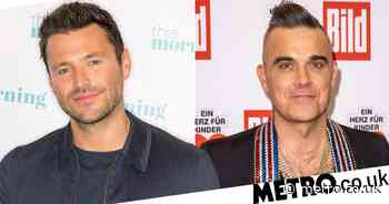 Mark Wright gets Robbie Williams' permission on potential baby name - Metro.co.uk