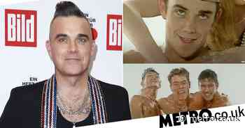 Robbie Williams asks if Take That's Do What You Like video is 'appropriate' - Metro.co.uk