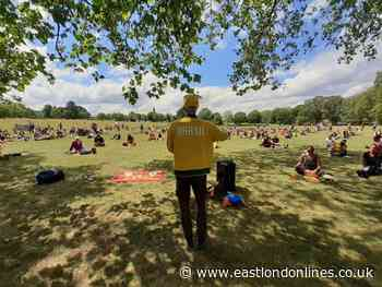 Hundreds join anti-racism protest in Lewisham park - EastLondonLines