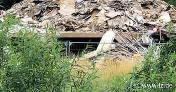 Brandruine in Schötmar bleibt sich selbst überlassen | Lokale Nachrichten aus Bad Salzuflen - Lippische Landes-Zeitung