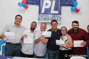 Partido Liberal tem adesão de 4 vereadores de Bombinhas | SC Hoje News - SC Hoje News