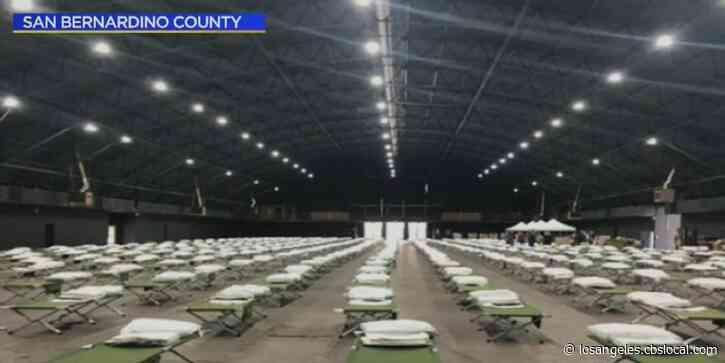 San Bernardino Officials Prepare For Surge In Hospitalizations As Coronavirus Cases Spike