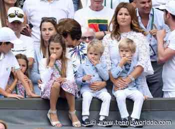 Roger Federer teilt die Reaktion seiner Kinder darauf, ihn spielen zu sehen - Tennis World DE