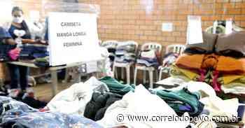 Prefeitura de Esteio promove doação de agasalhos para moradores do Parque Primavera - Jornal Correio do Povo