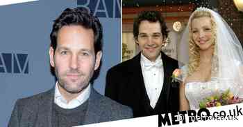 Paul Rudd admits he felt like a 'prop' while guest-starring on Friends - Metro.co.uk