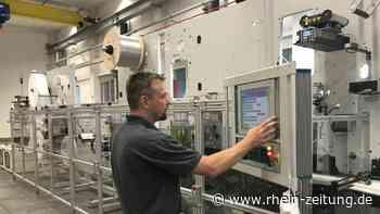 Neuentwicklung bei W+D: Die schnellste Masken-Maschine der Welt - Rhein-Zeitung