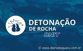 Novas detonações de rochas estão programadas em Maravilha nesta sexta-feira (26) - Portal DI Online