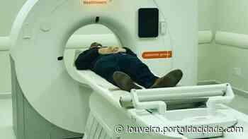 """Tomógrafo do novo """"Centro de Diagnóstico por Imagem de Louveira"""" - Portal da cidade"""