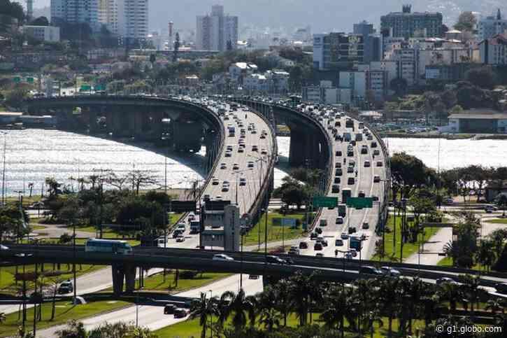 Ponte Colombo Salles, em Florianópolis, ficará fechada para o tráfego no fim de semana - G1