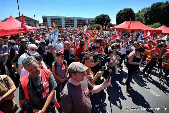 Social - Rassemblement Luxfer à Gerzat (Puy-de-Dôme) : « Cette usine, on va la rouvrir ! » - La Montagne