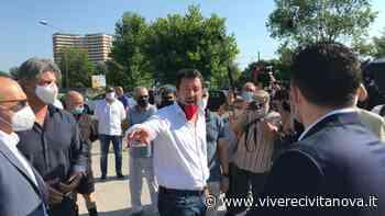 Porto Recanati: la visita di Salvini all'Hotel House - Vivere Civitanova