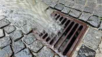 Diskussion um Sanierung: Was mit dem Regenwasserkanal in Tangstedt passieren soll | shz.de - shz.de