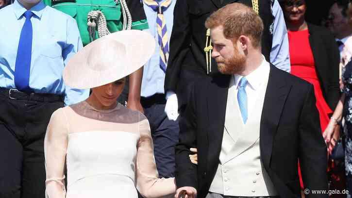 Royals: Meghan + Harry von Charles weggeschickt? Video sorgt für Diskussionen - Gala.de