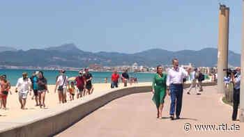 Spanische Royals auf Ballermann-Besuch: So nah kommen sie deutschen Mallorca-Touristen - RTL Online