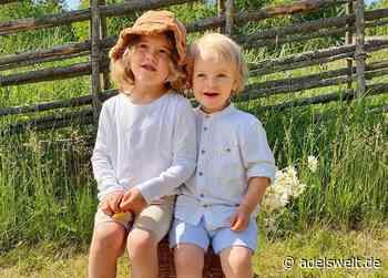 Schwedische Royals: Neues Foto von Alexander und Gabriel - ADELSWELT