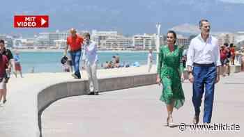 Felipe & Letizia auf Mallorca: Endlich ein echter König am Ballermann! - BILD