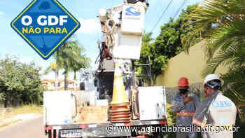 GDF Presente leva mais iluminação ao Areal - Agência Brasília