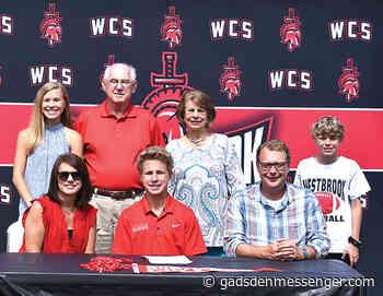 Westbrook's Edwards signs with Huntingdon | The Messenger - Gadsden Messenger