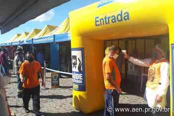 Coronavírus: Ação para caminhoneiros acontece em Siqueira Campos - Agência Estadual de Notícias do Estado do Paraná