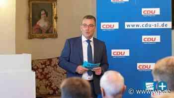 Hilchenbach: André Jung führt CDU-Liste bei Kommunalwahl an - Westfalenpost
