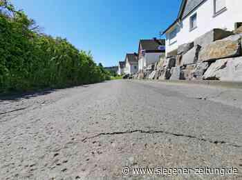 Straßensanierungskonzept Hilchenbach: Substanz bricht weg - Hilchenbach - Siegener Zeitung