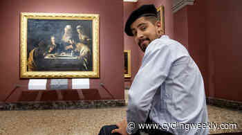 'I could not postpone it again': Peter Sagan visits art gallery in preparation for Giro d'Italia debut