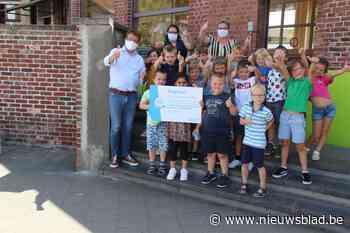 1.500 euro voor Vrije Centrumschool (Zwevegem) - Het Nieuwsblad