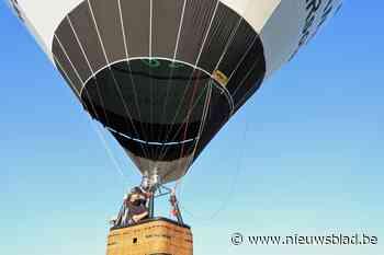Ballonvaarder Ramses wil records breken met ecologische luch... (Zwevegem) - Het Nieuwsblad
