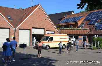 Corona-Testzentrum in Ahlen nimmt Betrieb auf - Radio WAF