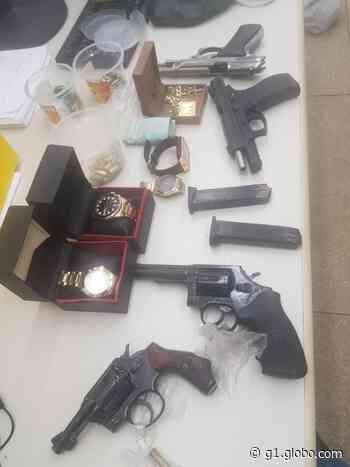 Três pessoas são presas suspeitas de integrarem organização criminosa em Vilhena, RO - G1