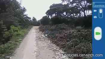 El Cazanoticias: en Curumaní, Cesar, denuncian que los habitantes arrojan la basura en las calles - Noticias RCN