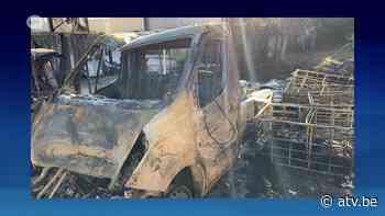 Brand Wijnegem: schade is groot - ATV