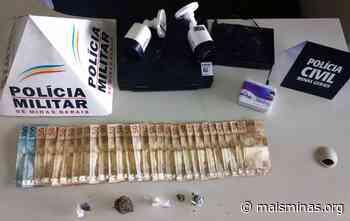 Polícia de Itabirito prende três suspeitos de tráfico de drogas - Mais Minas