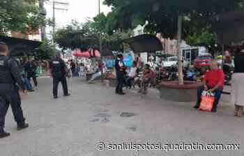 Zona centro de Tamazunchale, de alto riesgo por Covid 19 - Quadratín - Quadratín San Luis